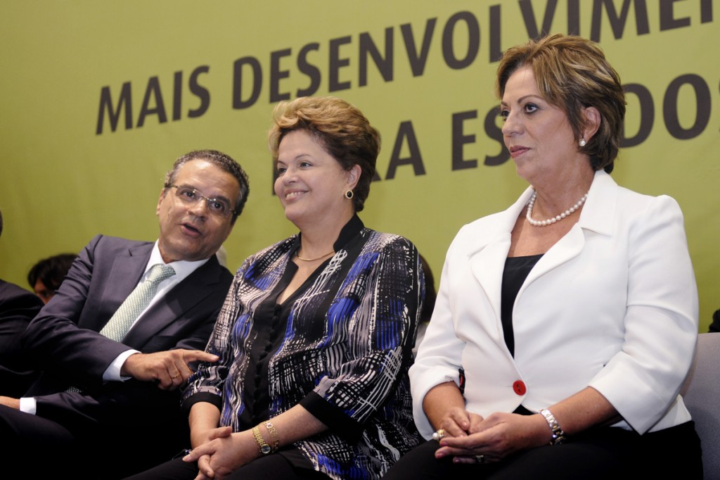 Governadora acompanha agenda da Presidenta Dilma em Natal - Elisa Elsie