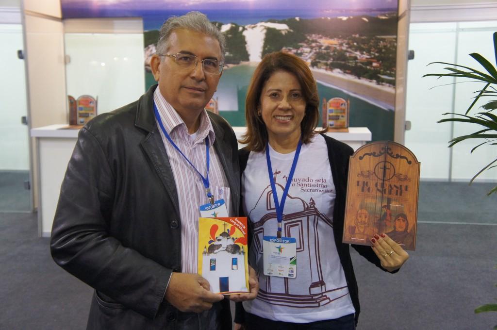 Fatima Marinho e Paulo Cesar Fernandes