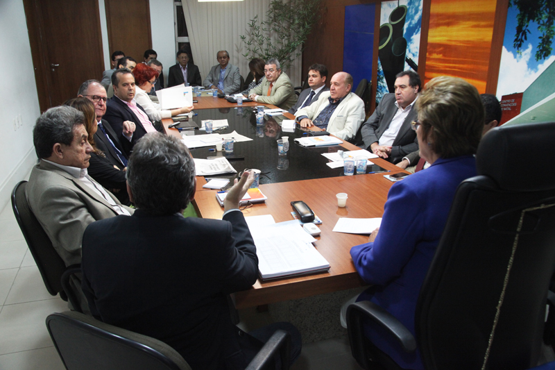 reunião do secretariado fot Ivanizio ramos 2