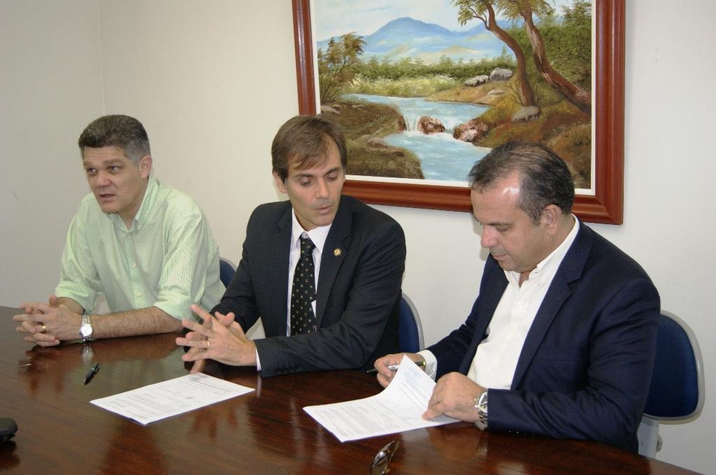 Fernando Virgilo JUCERN, Marcos HUbner e Rogério Marinho 2