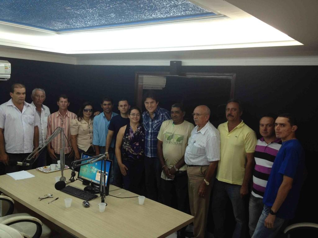 Robinson na Rádio Agreste Santo Antônio 3
