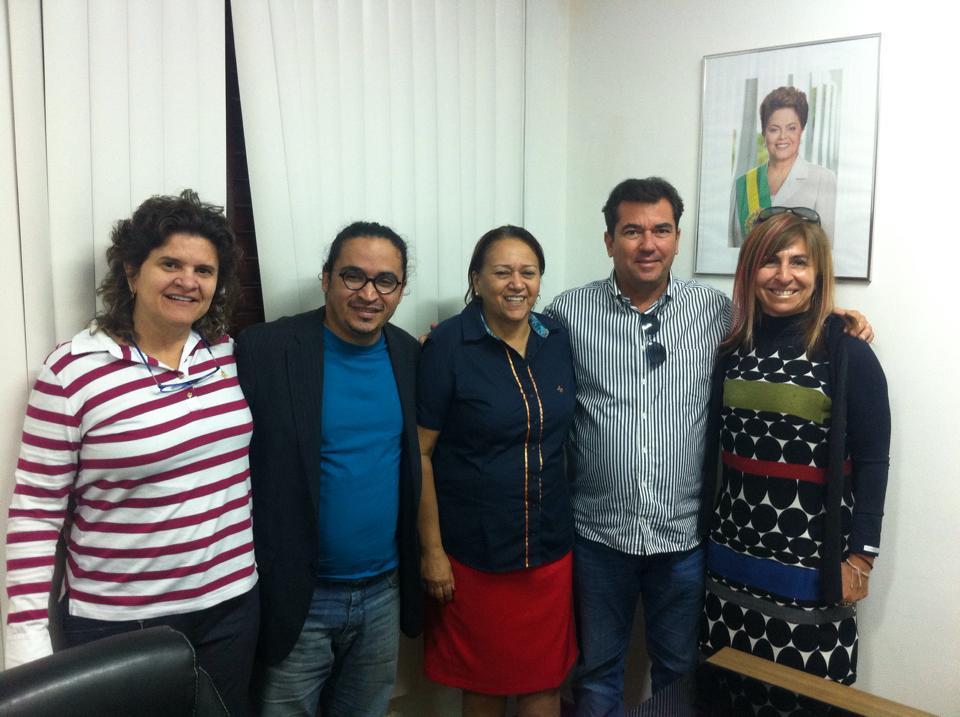 Fátima Bezerra e secretários do RN