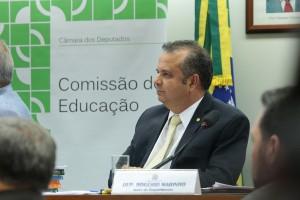 Rogério na Comissão de Educação
