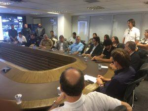 Rogério reunião na Escola de Governo